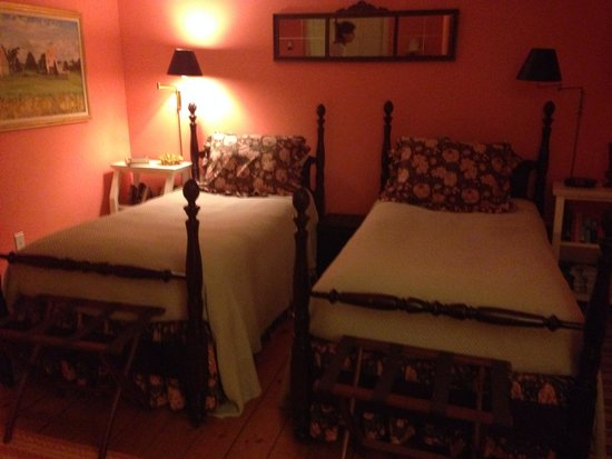 Lionel Champlin Guest House: Twin Room