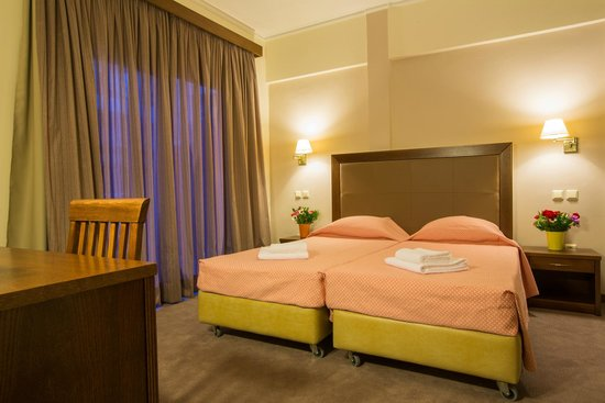 Marina Hotel Athens: Deluxe twin room