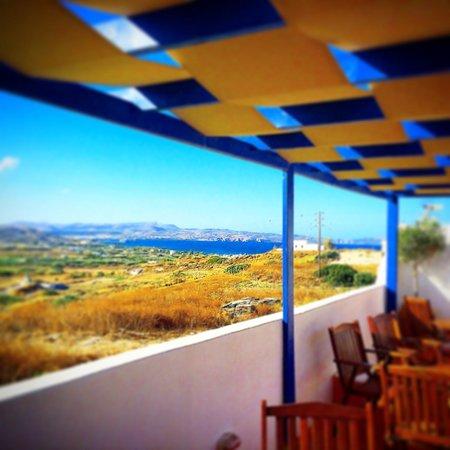Orizontes Studios Milos: Vista dalla piscina