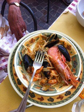 Aldente Trattoria: Pasta with fish