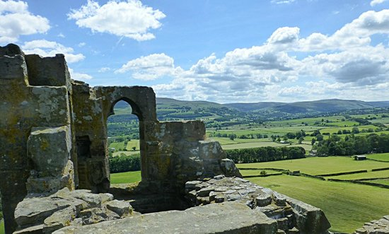 Bolton Castle: View from the battlements