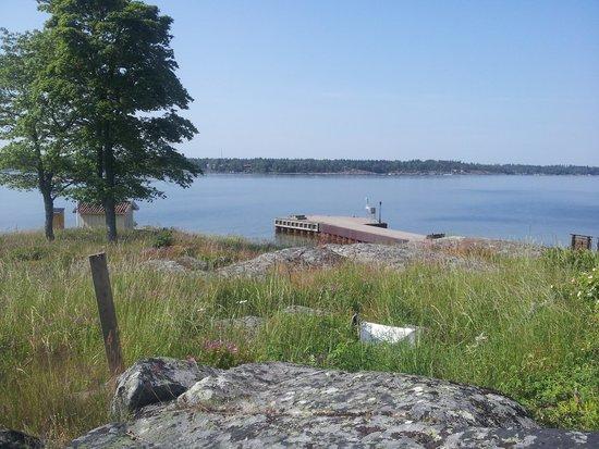 Lido Vardshus: Lidö Inn. The jetty.