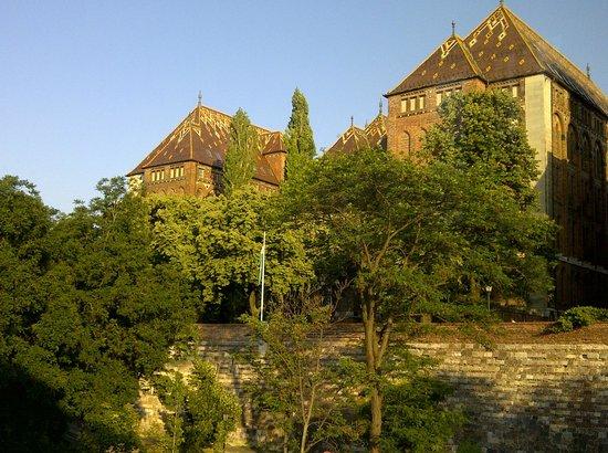Hotel Castle Garden: Fenster zum Burgberg