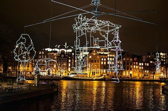 Amsterdam Delicious: A culinary boat tour during the Amsterdam Light Festival was amazing