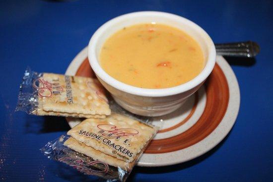 Horse Creek Inn Restaurant & Campground: Chee Beer soup