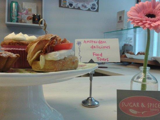 Amsterdam Delicious: Sugar & Spice Bakery Delicious culinary hidden gem at Zeedijk!