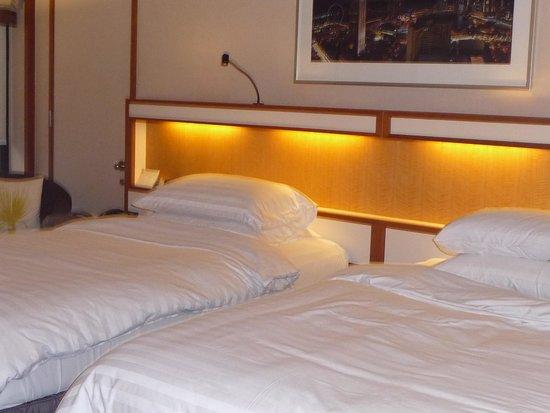 Pan Pacific Singapore: ベッドルーム