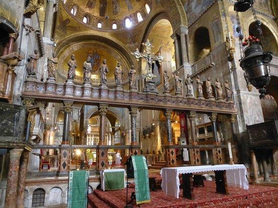 Saint Mark's Basilica (Basilica di San Marco): Zona altare e abside