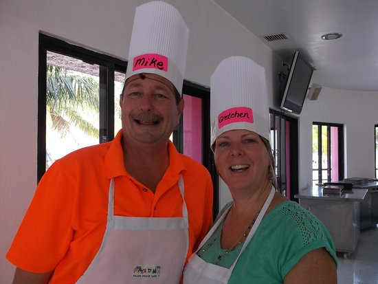 Playa Mia Grand Beach & Water Park: Ready to cook!