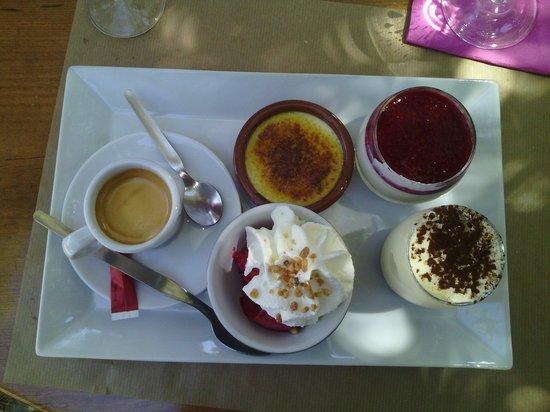 L'aghja nova: Café gourmand