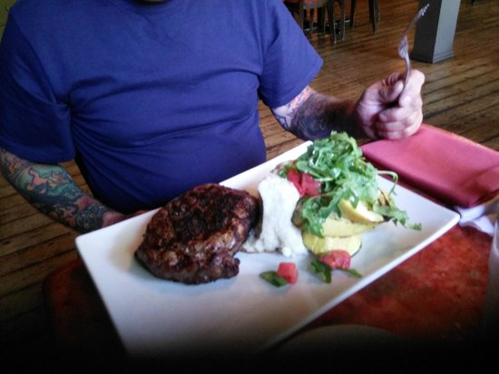 New World Home Cooking: SILVER FERN FARM GRASSFED RIBEYE STEAK