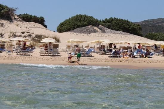 Chia Laguna - Hotel Village: private beach