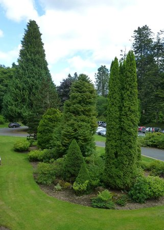 Hilton Dunkeld House : View from room 118, to front of hotel