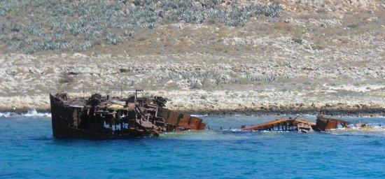 Cretan Daily Cruises : gramvousa