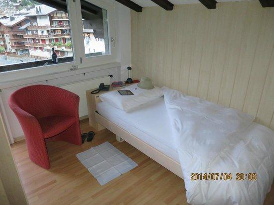 Hotel Beau-Rivage : my room
