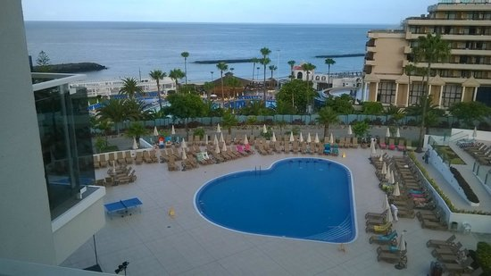 HOVIMA Costa Adeje: View from the 4th floor