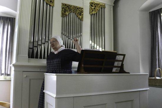 Old Salem Museums & Gardens: Marvelous Pipe Organ Demonstration