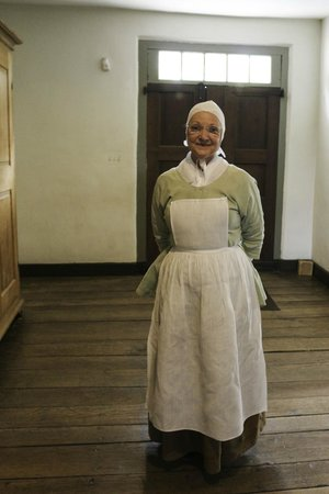 Old Salem Museums & Gardens: Costumed Interpreter at Brothers House