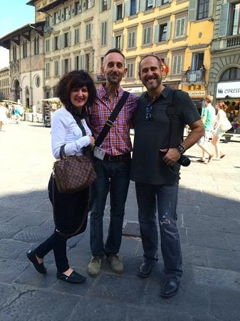 Italy Hotline Custom and Gourmet Tours: Michele, our expert guide to the city and art of Florence