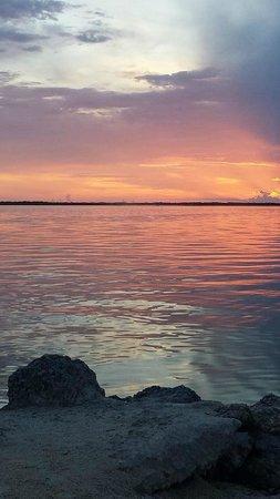 Hampton Inn Key Largo: Wonderful sunset view