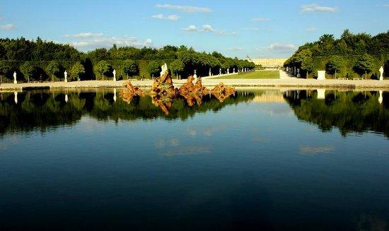 Château de Versailles : the main bassin
