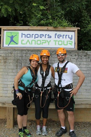 River Riders: First Time Ziplining!!! wohoo!!