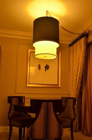 Venetian Resort Hotel Casino: Room dining area