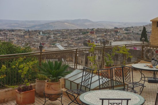 Ryad Alya : Morning view from rooftop