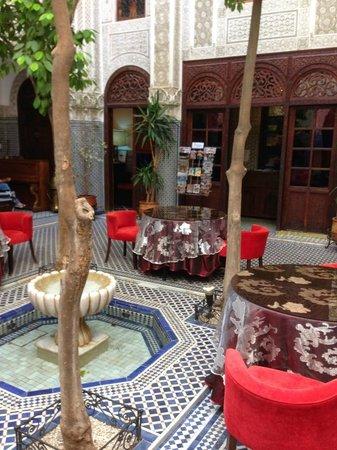 Ryad Alya: Lobby - Central Courtyard