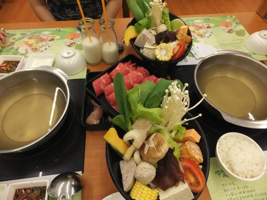 Flying Cow Ranch Hotel Miaoli: Yummy hotpot. Must try!