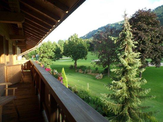 Rasmushof Hotel Kitzbuehel: vista dalla camera 227