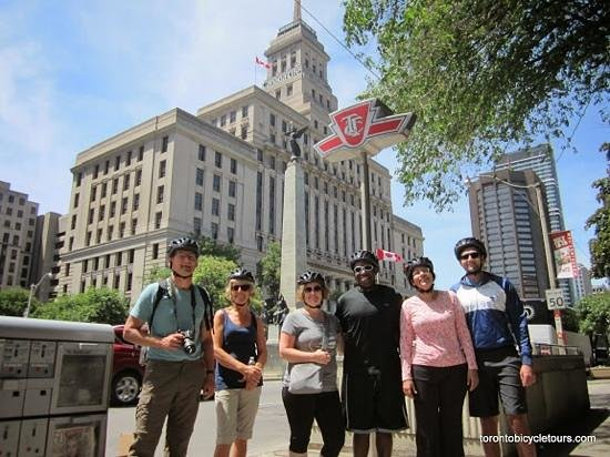 Toronto Bicycle Tours: canada life building