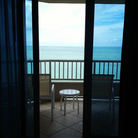 Lido Beach Resort: Beautiful view of the gulf