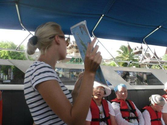 Phang Nga Eco Tour: Наш гид Кристина