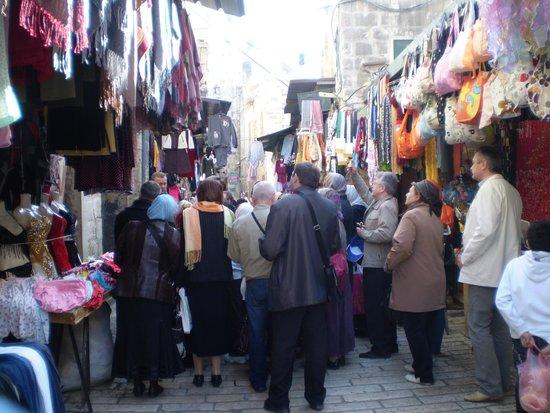 New Victoria Hotel Jerusalem: Виа Делороса начало пути скорби
