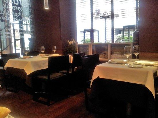 Sikera Bar Restaurante: Vista del comedor