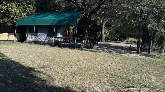 Ndhovu Safari Lodge: Tents with sliding doors!