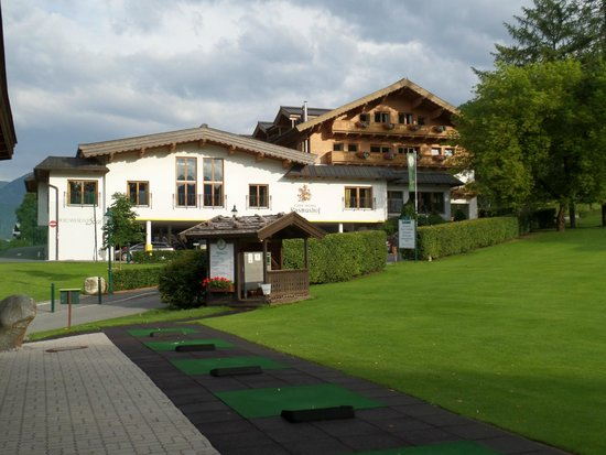 Rasmushof Hotel Kitzbühel: zona tiro campo da golf