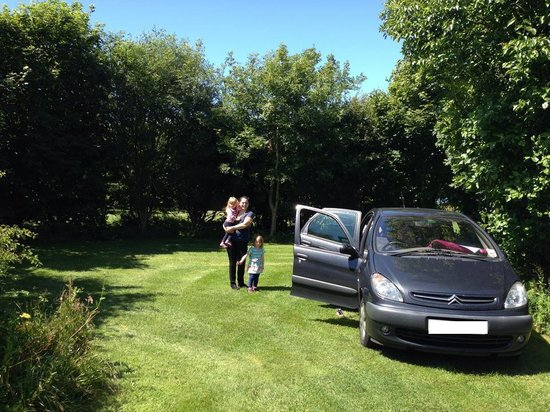 Warcombe Farm Camping Park: Great size and private