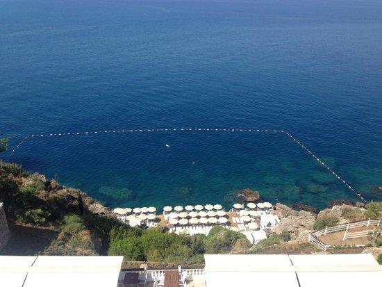 La Boutique Hotel Antalya : Blick von der Terrasse / Frückstück
