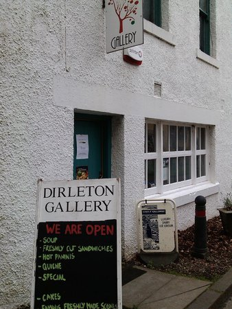 Dirleton Gallery: the gallery