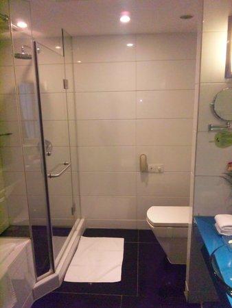 Leeden Hotel: バスルームの設備も値段相応