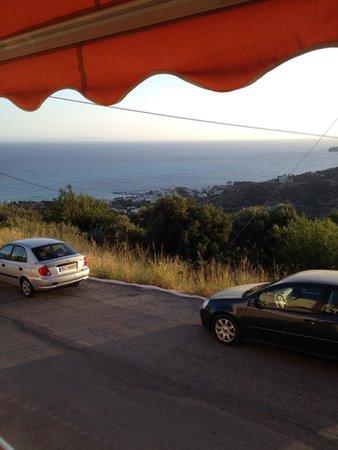 Taverna Dionyssos: View