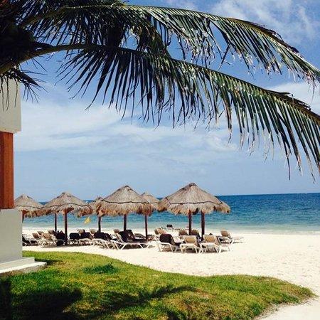 Now Sapphire Riviera Cancun: Beach view