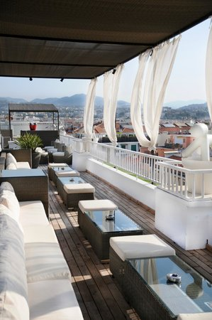 Splendid Hotel & Spa : Rooftop terrace