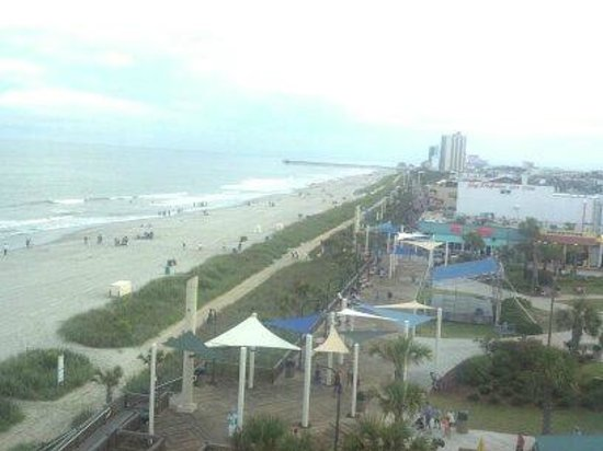 Sheraton Myrtle Beach Convention Center Hotel: View from the Wheel