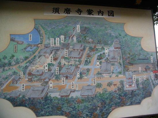 Sumadera: 境内図