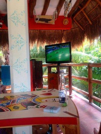 Tribu Hostel: The bar!