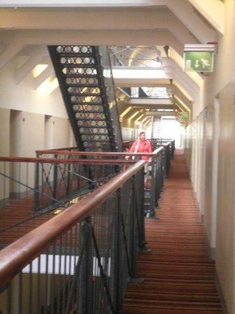 Hotel Katajanokka: corridoio