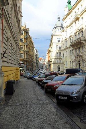 Eurostars David: De straat waarin het hotel ligt